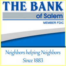 The Bank of Salem sponsor logo and hyperlink