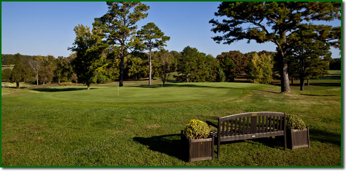Photo of the practice green at Spring Creek Golf Club